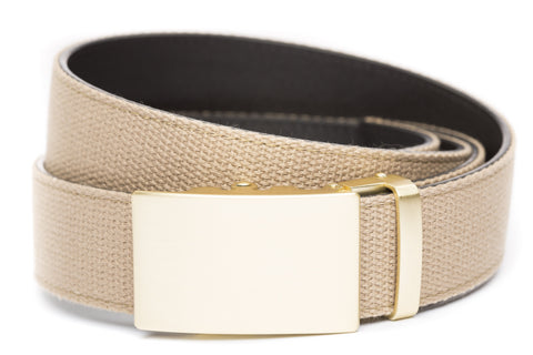 1-5-quot-classic-buckle-in-matte-gold 1-5-quot-khaki-canvas-strap