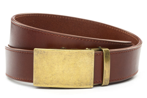 1-5-quot-classic-buckle-in-antiqued-gold 1-5-quot-picante-vegetable-tanned-leather-strap