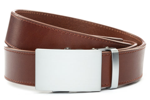 1-5-quot-classic-buckle-in-silver 1-5-quot-picante-vegetable-tanned-leather-strap