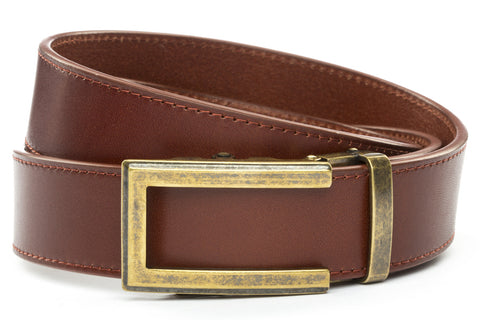 1-5-quot-traditional-buckle-in-antiqued-gold 1-5-quot-picante-vegetable-tanned-leather-strap