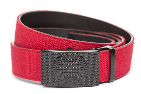 1-5-quot-anson-golf-buckle-in-black 1-5-quot-red-canvas-strap