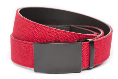 1-5-quot-classic-buckle-in-black 1-5-quot-red-canvas-strap