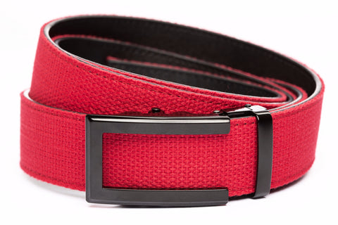 1-5-quot-traditional-buckle-in-black 1-5-quot-red-canvas-strap