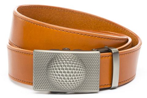 1-5-quot-anson-golf-buckle-in-gunmetal 1-5-quot-saddle-tan-vegetable-tanned-leather-strap