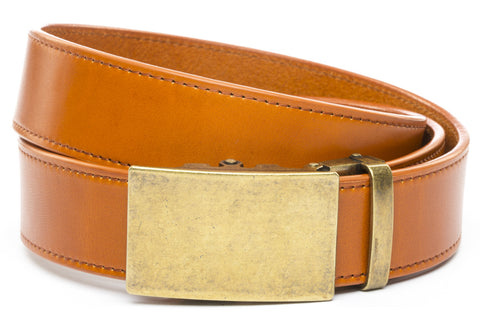 1-5-quot-classic-buckle-in-antiqued-gold 1-5-quot-saddle-tan-vegetable-tanned-leather-strap
