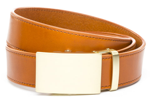 1-5-quot-classic-buckle-in-matte-gold 1-5-saddle-tan-vegetable-tanned-leather
