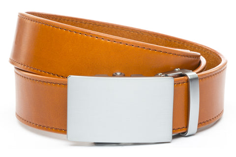 1-5-quot-classic-buckle-in-silver 1-5-saddle-tan-vegetable-tanned-leather