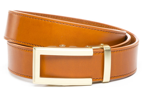 1-5-quot-traditional-buckle-in-gold 1-5-saddle-tan-vegetable-tanned-leather