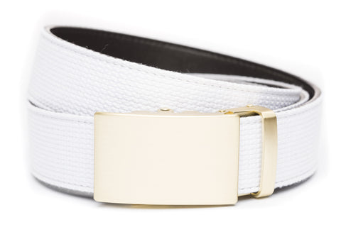 1-5-quot-classic-buckle-in-matte-gold 1-5-quot-white-canvas-strap