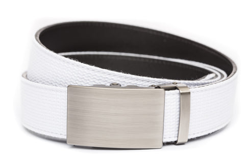 1-5-quot-classic-buckle-in-gunmetal 1-5-quot-white-canvas-strap