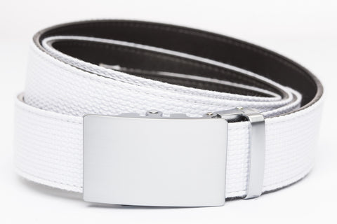 1-5-quot-classic-buckle-in-silver 1-5-quot-white-canvas-strap