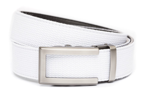 1-5-quot-traditional-buckle-in-gunmetal 1-5-quot-white-canvas-strap