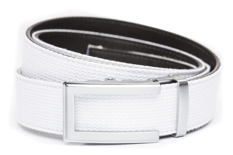 1-5-quot-traditional-buckle-in-silver 1-5-quot-white-canvas-strap
