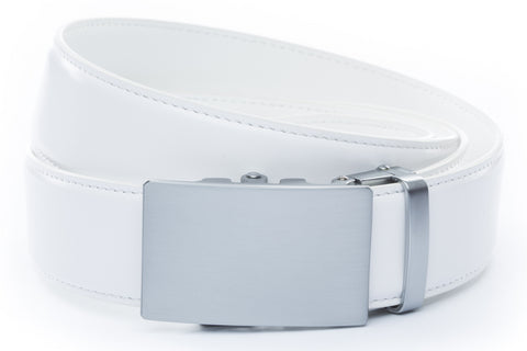 1-5-quot-classic-buckle-in-silver 1-5-quot-white-leather-strap