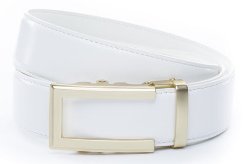 1-5-quot-traditional-buckle-in-gold 1-5-quot-white-leather-strap