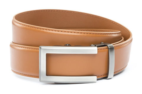 1-5-quot-traditional-buckle-in-gunmetal 1-5-quot-saddle-tan-leather-strap