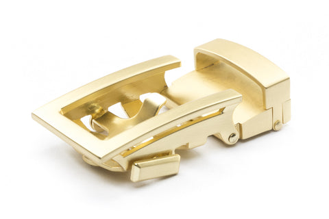 "1.25"" Traditional Buckle in Matte Gold"