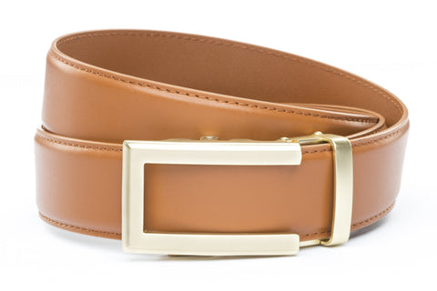 1-5-quot-traditional-buckle-in-gold 1-5-quot-saddle-tan-leather-strap