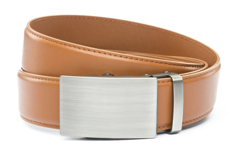 1-5-quot-classic-buckle-in-gunmetal 1-5-quot-saddle-tan-leather-strap
