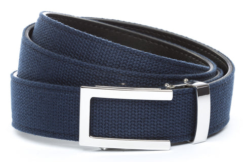 1-25-quot-nickel-free-traditional-buckle 1-25-quot-navy-canvas-strap