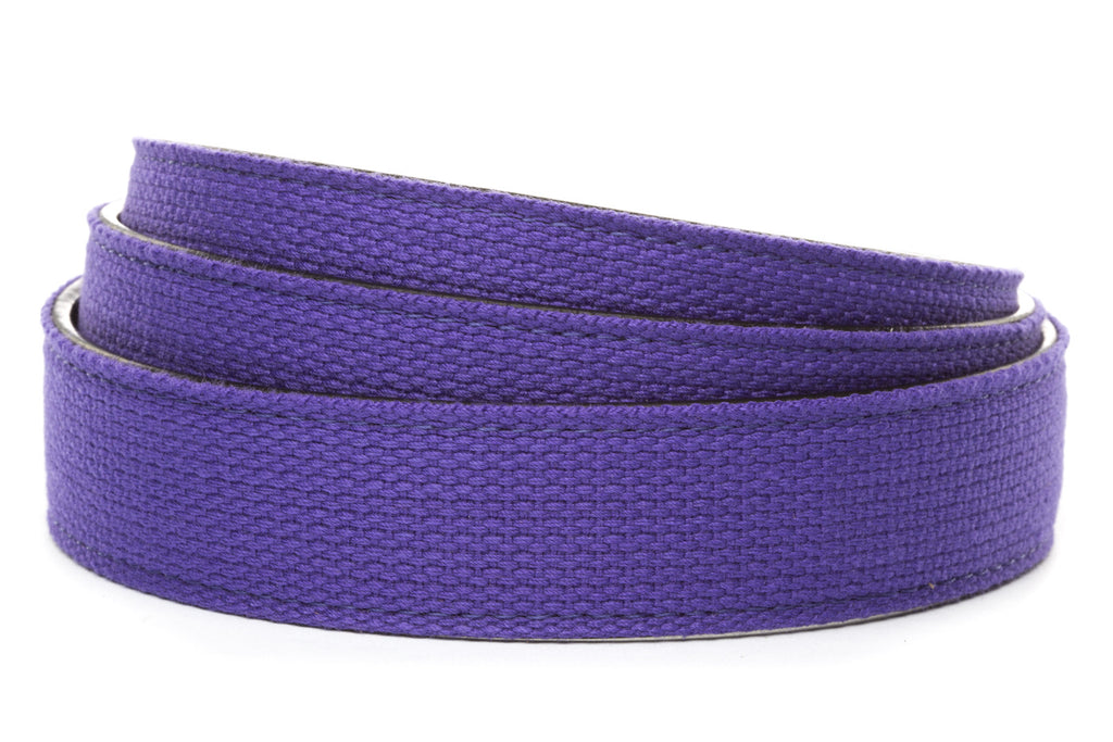 "1.25"" Purple Canvas Strap"