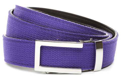1-25-quot-nickel-free-traditional-buckle 1-25-purple-canvas-strap