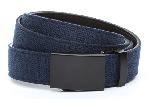 1-25-quot-classic-buckle-in-black 1-25-quot-navy-canvas-strap