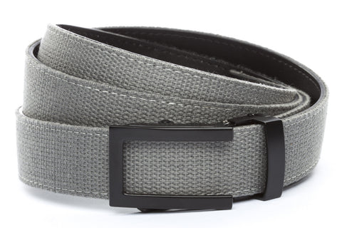 1-25-quot-traditional-buckle-in-black 1-25-quot-grey-canvas-strap