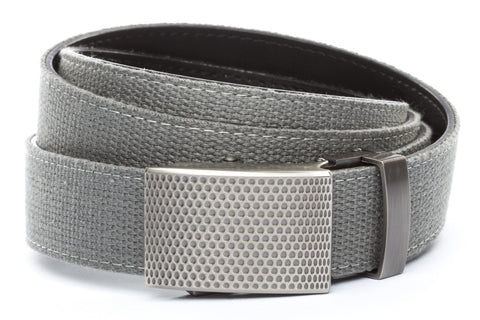 1-25-quot-anson-golf-buckle-in-gunmetal 1-25-quot-grey-canvas-strap
