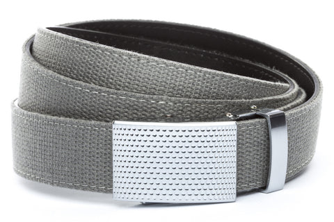 1-25-quot-anson-golf-buckle-in-silver 1-25-quot-grey-canvas-strap