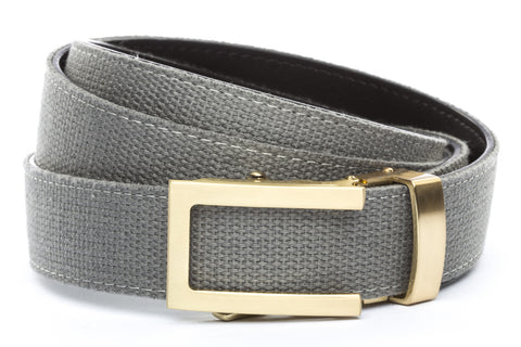 1-25-quot-traditional-buckle-in-gold 1-25-quot-grey-canvas-strap