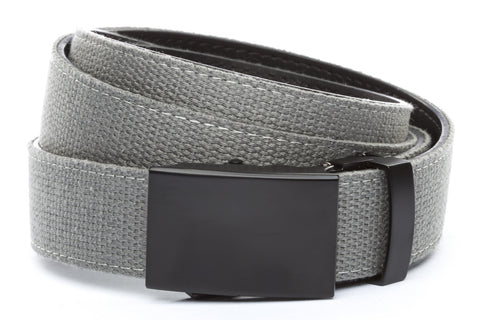 1-25-quot-classic-buckle-in-black 1-25-quot-grey-canvas-strap