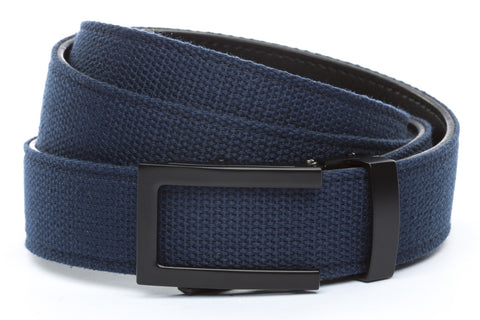 1-25-quot-traditional-buckle-in-black 1-25-quot-navy-canvas-strap