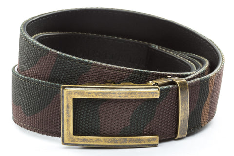 1-5-quot-traditional-buckle-in-antiqued-gold 1-5-quot-camo-canvas-strap