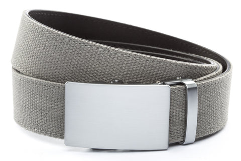 1-5-quot-classic-buckle-in-silver 1-5-quot-grey-canvas-strap