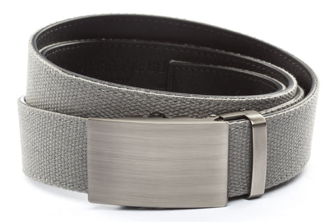 1-5-quot-classic-buckle-in-gunmetal 1-5-quot-grey-canvas-strap