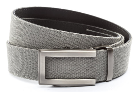 1-5-quot-traditional-buckle-in-gunmetal 1-5-quot-grey-canvas-strap