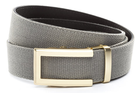 1-5-quot-traditional-buckle-in-gold 1-5-quot-grey-canvas-strap