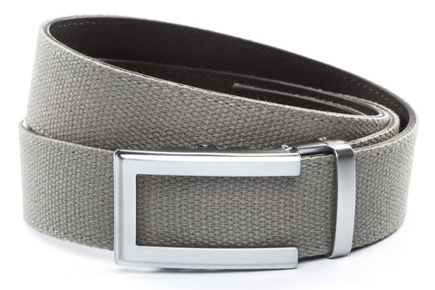 1-5-quot-traditional-buckle-in-silver 1-5-quot-grey-canvas-strap