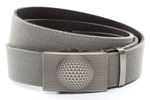1-5-quot-anson-golf-buckle-in-gunmetal 1-5-quot-grey-canvas-strap