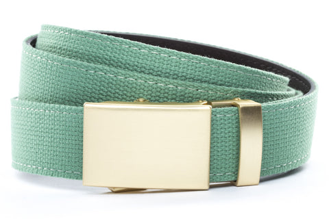 1-25-quot-classic-buckle-in-matte-gold 1-25-quot-lime-canvas-strap