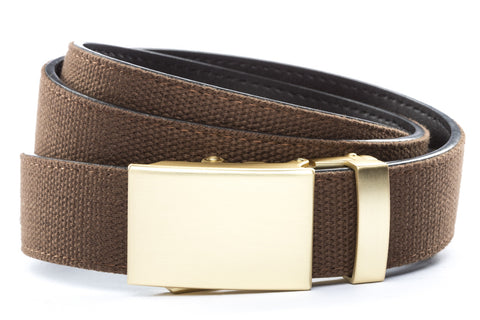 1-25-quot-classic-buckle-in-matte-gold 1-25-quot-brown-canvas-strap