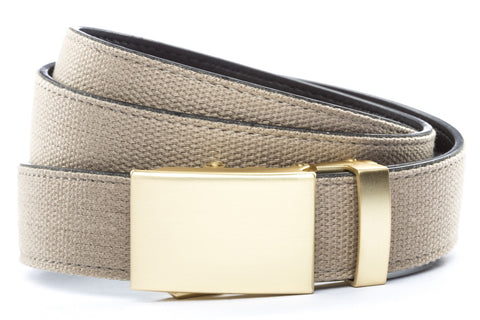 1-25-quot-classic-buckle-in-matte-gold 1-25-quot-khaki-canvas-strap
