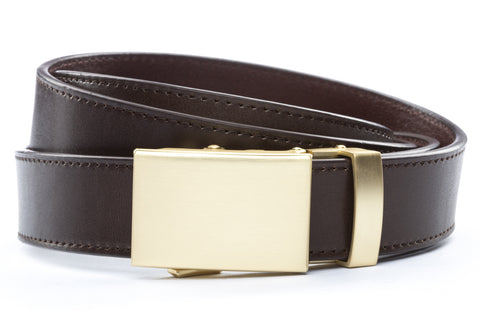 1-25-quot-classic-buckle-in-matte-gold 1-25-quot-espresso-vegetable-tanned-leather-strap