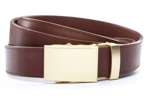 1-25-quot-classic-buckle-in-matte-gold 1-25-quot-picante-vegetable-tanned-leather-strap