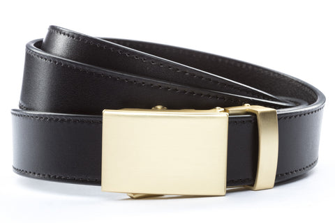 1-25-quot-classic-buckle-in-matte-gold 1-25-quot-black-vegetable-tanned-leather-strap