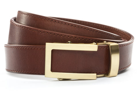 1-25-quot-traditional-buckle-in-gold 1-25-quot-picante-vegetable-tanned-leather-strap
