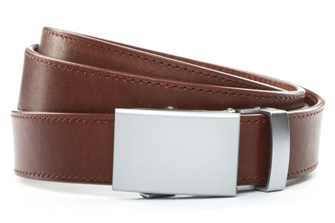 1-25-quot-classic-buckle-in-silver 1-25-quot-picante-vegetable-tanned-leather-strap