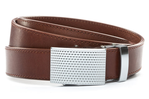 1-25-quot-anson-golf-buckle-in-silver 1-25-quot-picante-vegetable-tanned-leather-strap