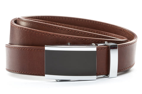 1-25-quot-onyx-buckle 1-25-quot-picante-vegetable-tanned-leather-strap